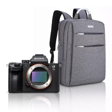 Kit-Sony-a7III-Mirrorless---Mochila-Profissional-a-Prova-D-Agua-e-Laptop