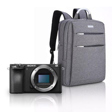 Kit-Sony-A6500-Mirrorless-4K---Mochila-Profissional-a-Prova-D-Agua-e-Laptop