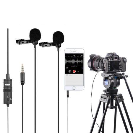 Microfone-Lapela-Duplo-Boya-BY-M1DM-Omnidirecional-para-Cameras-e-Smartphones
