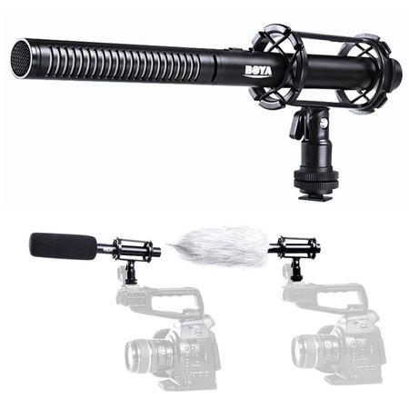 Microfone-Shotgun-Boya-PVM1000L-Direcional
