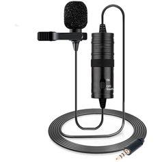 Microfone-Lapela-Estereo-Boya-M1-Omnidirecional-ara-Cameras-DSLR-e-Smartphones