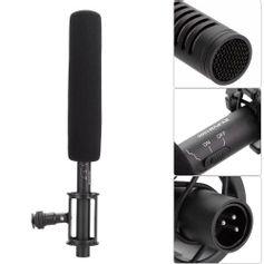 Microfone-Profissional-Shotgun-Boya-BY-PVM1000-Direcional