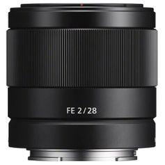 Lente Sony FE 28mm f/2 E-Mount (SEL28F20)