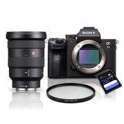 Kit-Sony-a7III-Mirrorless---Lente-Sony-FE-16-35mm-GM---Filtro-UV-82mm---Cartao-SDXC-32Gb-de-95Mb-s