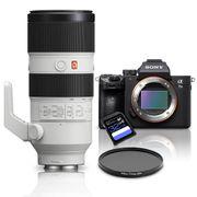 Kit-Sony-a7III-Mirrorless---Lente-Sony-FE-70-200mm-GM-OSS---Filtro-CPL-77mm---Cartao-SDXC-32Gb-de-95Mb-s