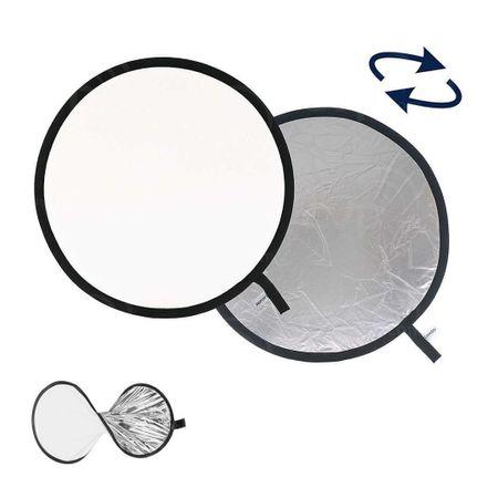 Rebatedor-Circular-2-em-1-Branco-e-Prata-de-60cm-Dobravel
