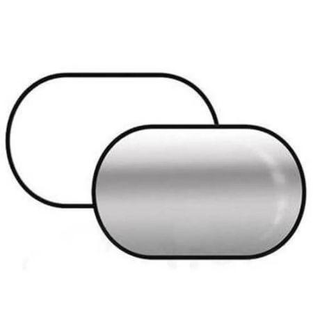 Rebatedor-Oval-2-em-1-Branco-e-Prata-de-60x90cm-Dobravel-