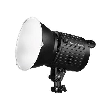 Luz-Continua-Photo-LED-NiceFoto-HC-1000B-de-100W-Video-Light-5500K-com-Montagem-Bowens