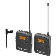 Kit-Microfone-Sem-Fio-Lapela-ME2-Sennheiser-EW-112-P-G3-Wireless-com-Montagem-de-Camera--626-668MHz-