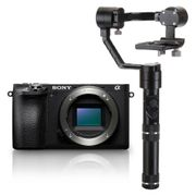 Kit-Sony-A6500-Mirrorless-4K----Estabilizador-Inteligente-Zhiyun-Crane-M-Gyro-Movie-com-3-Eixos
