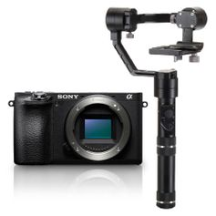 Kit-Sony-A6500-Mirrorless-4K----Estabilizador-Inteligente-Zhiyun-Crane-M-Gyro-Movie-com-3-Eixos