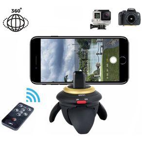 Mini-Cabeca-Panoramica-Motorizada-AFI-MRP01-Rotacao-de-360°-para-Cameras-e-Smartphones