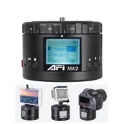 Cabeca-Panoramica-Motorizada-AFI-MA2-360°-Time-Lapse-para-Cameras-Mirrorless-DSLR-e-Smartphones
