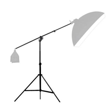 Tripe-de-Iluminacao-Girafa-2-em-1-Greika-YS-513-Light-Stand-de-3Metros