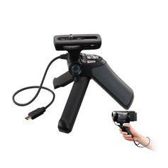 Punho-Grip-e-Mini-Tripe-Sony-GP-VPT1-com-Controle-Remoto