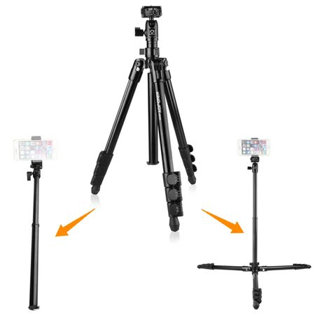 Tripe-e-Monope-Portatil-Kingjoy-SF046-para-Viagem-e-SmartPhone-com-Cabeca-Ball