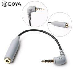 Adaptador-P2-para-P3-Boya-By-CIP2-de-Microfone-de-3.5mm-para-SmartPhones--Trs-para-Trss-