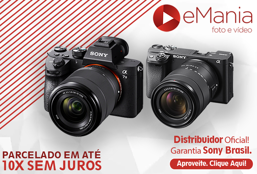 Câmeras Mirrorless Sony