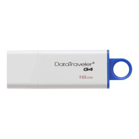 Pen-Drive-Kingston-DataTraveler-16GB-Usb-3.1-Gen1---Usb-3.0-G4--Azul-