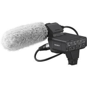Kit-Microfone-Shotgun-Sony-XLR-K3M-com-Canal-Duplo-Digital-com-Adaptador-XLR
