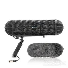 Kit-Microfone-Blimp-Boya-BY-WS1000-com-Sistema-de-Suspensao-Windshield-e-Cabo-XLR