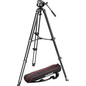 Tripe-Manfrotto-MVT502AM-com-Cabeca-Hidraulica-Fluido-de-Video-MVH500A-com-Bolsa--MVK500AM-
