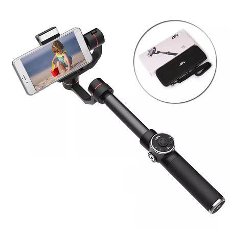 Estabilizador-Gimbal-Draco-Broadcast-AFi-V5-com-Led-para-Celulares-e-SmarthPhones