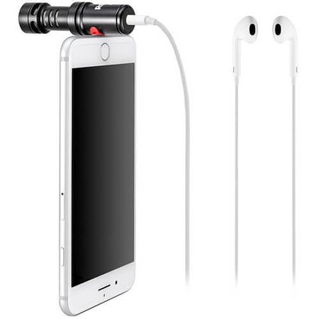 Microfone Direcional Rode VideoMic Me-L para iPhone com Conector Lightning