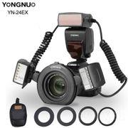 Flash-Circular-Macro-Yongnuo-YN-24EX-TTL-Ring-para-Cameras-Canon