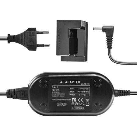 Adaptador-CA-ACK-DC50-com-Acoplador-de-Bateria-NB-7L--Bivolt-