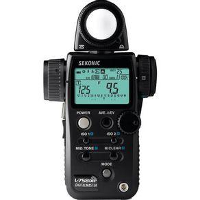 Fotometro-Sekonic-L-758DR-Medidor-de-Flash-DigitalMaster
