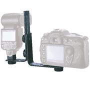 Suporte-L-Duplo-de-Montagem-Universal-1-4-para-Flash-e-Camera