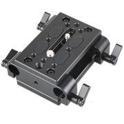 Plate-Base-de-Tripe-SmallRig-1798-com-Bracadeira-Dupla-de-Haste-15mm