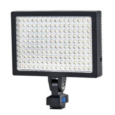 Iluminador-SunGun-160Leds-Video-Light-LED-1700-Profissional-com-Bateria-e-Carregador