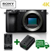 Kit-Sony-A6500-Mirrorless-4K---Extra-Bateria-NP-FW50-e-Carregador-Sony-BC-TRW-Series-W--Bivolt-