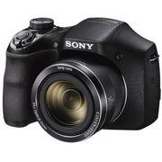Camera-Sony-Cyber-Shot-DSC-H300-com-Zoom-35x--Preta-