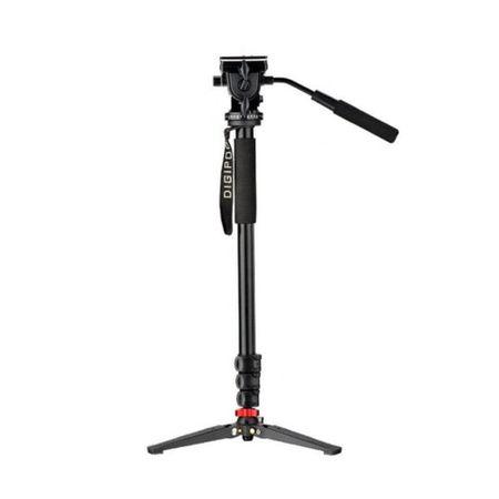 Monope-Digipod-MP-274VH-com-Pe-de-Galinha-e-Cabeca-Semi-Hidraulica-para-Cameras-e-Filmadoras