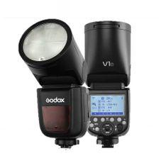 Flash-Godox-V1-f-Cabeca-Redonda-TTL-SpeedLight-para-Cameras-FujiFilm