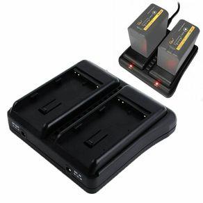 Carregador-Duplo-Rolux-RL-EXC2-para-Bateria-Sony-BP-U--Bivolt-