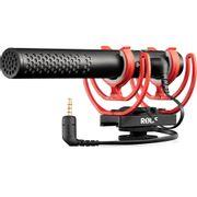 Microfone-Rode-VideoMic-NTG-Shotgun-Hibrido-Analogico---USB-com-Montagem-em-Camera