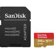 Cartao-MicroSDXC-SanDisk-256Gb-Extreme-UHS-I-A2-com-Adaptador-SD