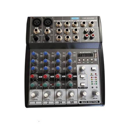 Mesa-de-Som-Analogica-6-Canais-USB-CSR-802--110V-