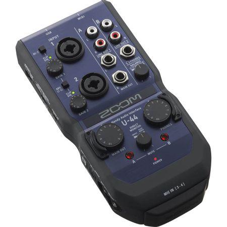 Interface-de-Audio-Portatil-Zoom-U-44-USB-4x4-24-Bit