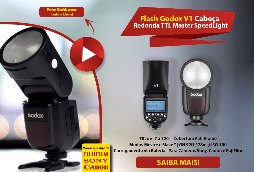 Flash Godox V1 Mobile