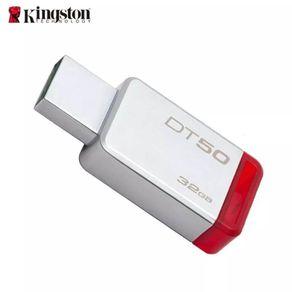 Pen-Drive-Kingston-32Gb-DataTraveler-USB-3.1---DT50-32GB---Vermelho