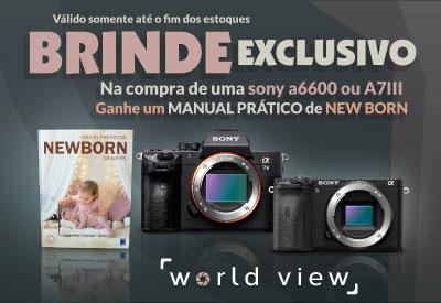 Kit Sony A6600 e A7III Newborn - Mobile