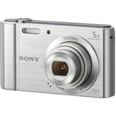 Camera-Sony-Cyber-Shot-DSC-W800--Prata-