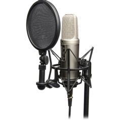 Kit-Estudio-Microfone-Rode-NT2-A-Studio