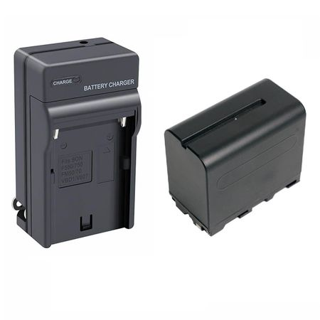 Kit-Bateria-e-Carregador-NP-F960---NP-F970-para-Sony-Monitores-e-Iluminadores-de-Led