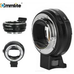 Adaptador-Commlite-de-Montagem-em-Lente-Canon-EF-EF-S-em-Cameras-Sony-E-Mount--CM-EF-E-HS-